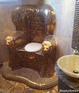 توالت فرنگی زیبا