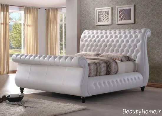 تخت لمسه سفید