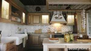 دکوراسیون آشپزخانه سنتی و قدیمی