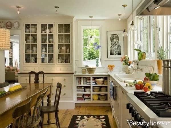 دکوراسیون سنتی برای آشپزخانه