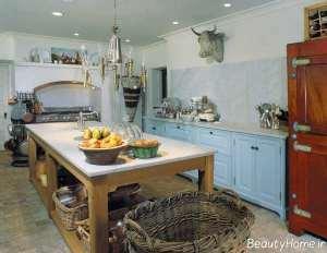 دکوراسیون آشپزخانه زیبا و سنتی