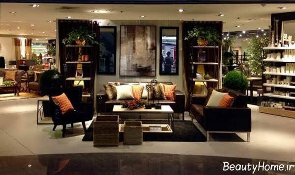 طراحی داخلی مغازه مبل