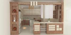 مدل ویترین کابینت آشپزخانه