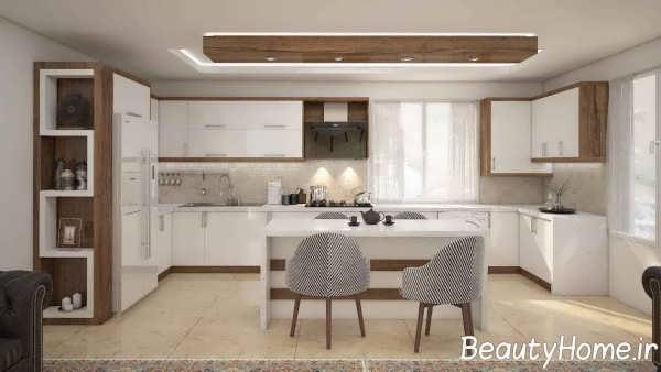 ویترین زیبا آشپزخانه