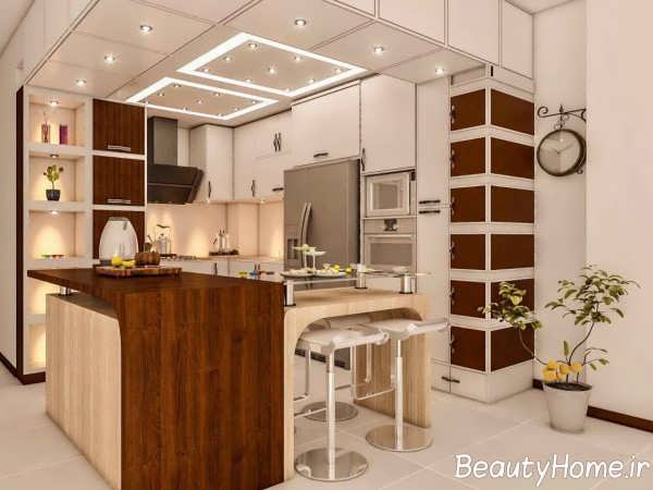 ویترین مدرن آشپزخانه