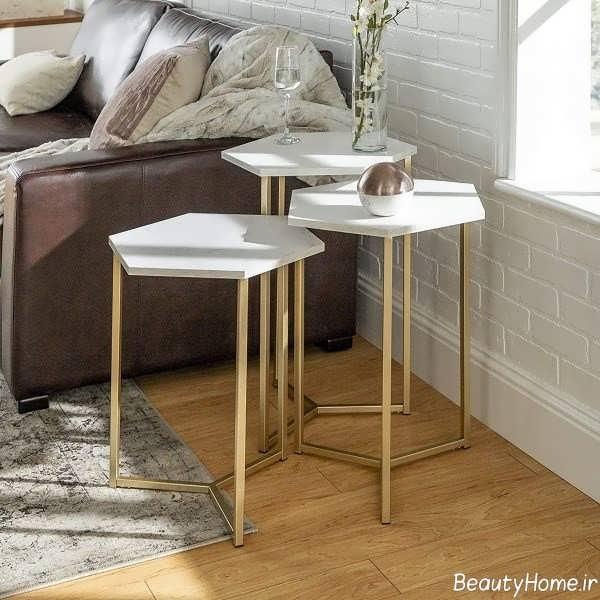 مدل میز پذیرایی ساده