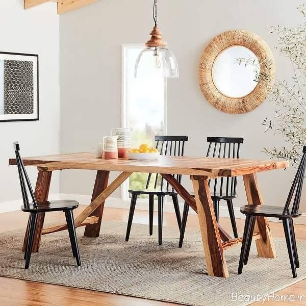 میز غذاخوری زیبا و جدید