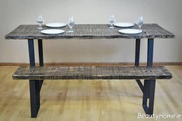 میز شیک و خاص غذاخوری