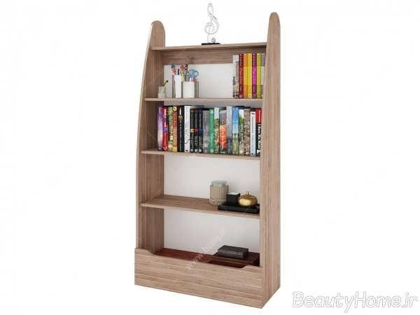 مدل کتابخانه ام دی اف شیک