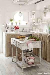 دکوراسیون آشپزخانه وینتیج
