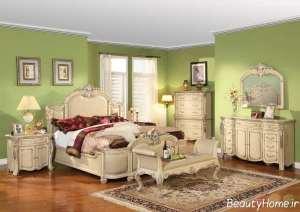 دکوراسیون وینتیج اتاق خواب
