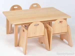 میز صندلی ام دی اف
