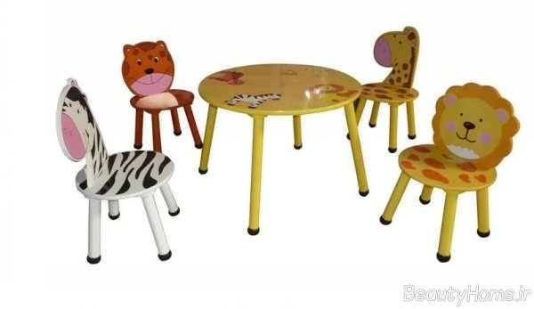 میز صندلی فانتزی