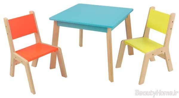طرح میز و صندلی