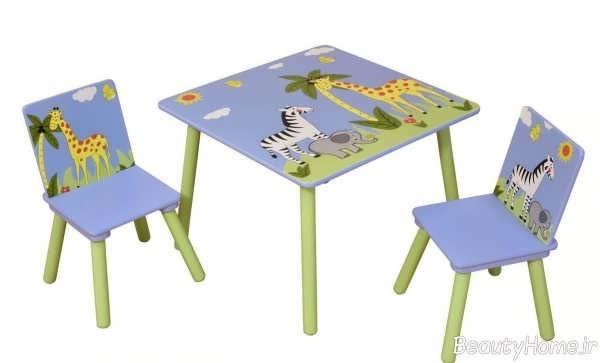 میز و صندلی زیبا و شیک