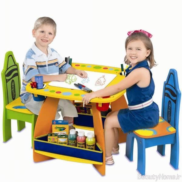 میز صندلی شیک