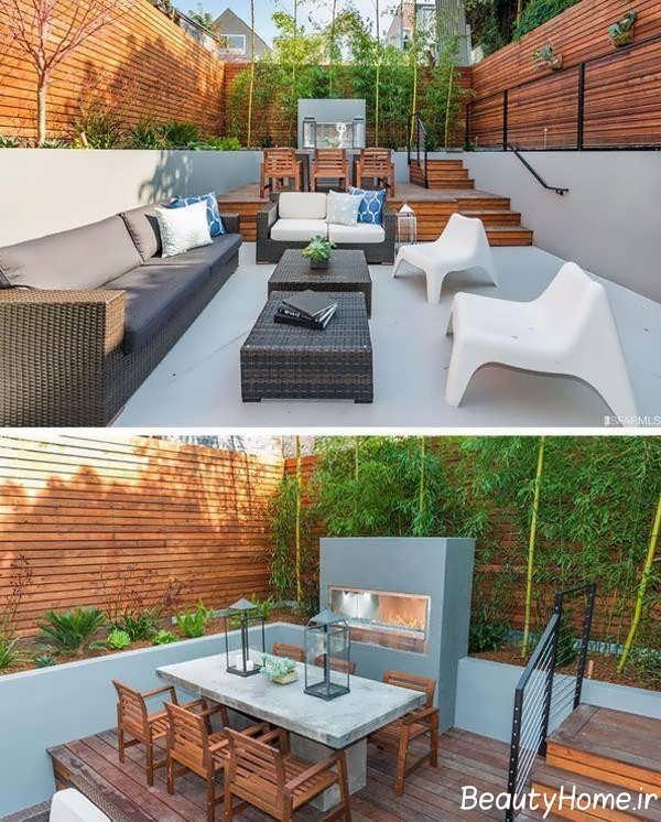 دیزاین حیاط خلوت