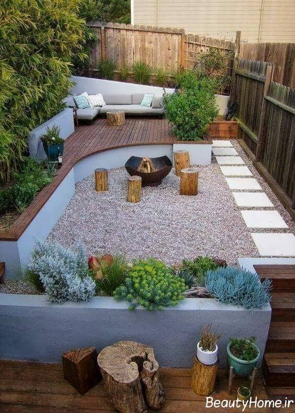 تزیین حیاط خلوت