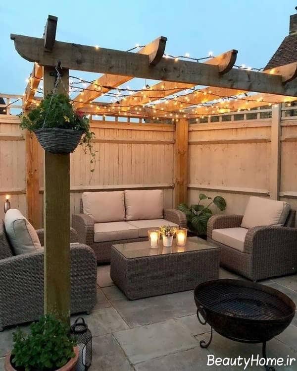 ایده هایی برای دیزاین حیاط خلوت