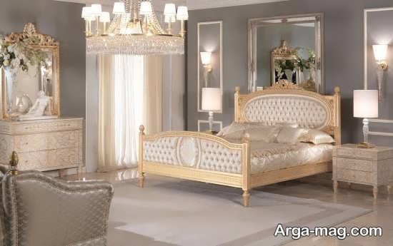 قرار دادن تخت خواب در فضای اتاق خواب