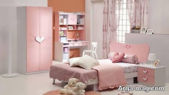 قرار دادن تخت خواب دو نفره در فضای اتاق خواب