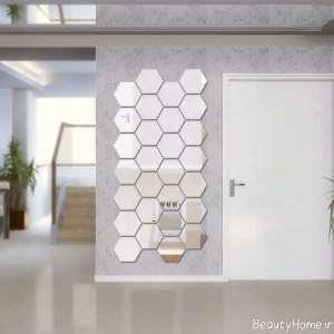تزیین شیک خانه با آینه