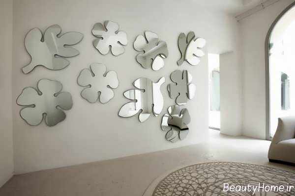 تزیین خلاقانه خانه به کمک آینه