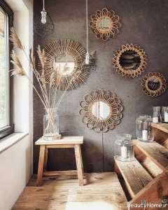 تزیین جالب خانه با آینه