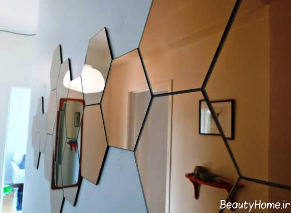 مدل تزیینات منزل با آینه