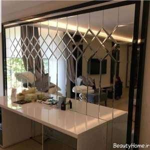مدل های تزیین خانه با آینه