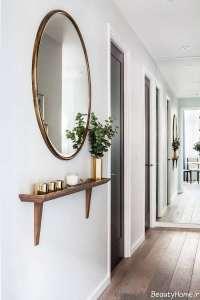 تزیین ساده منزل با آینه