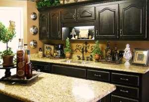 تزیین پیشخوان آشپزخانه