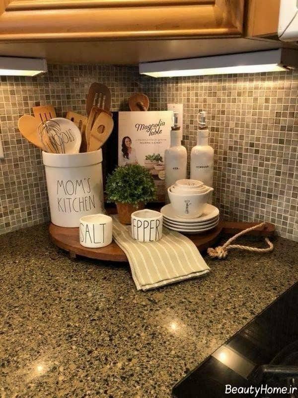 تزیینات پیشخوان آشپزخانه