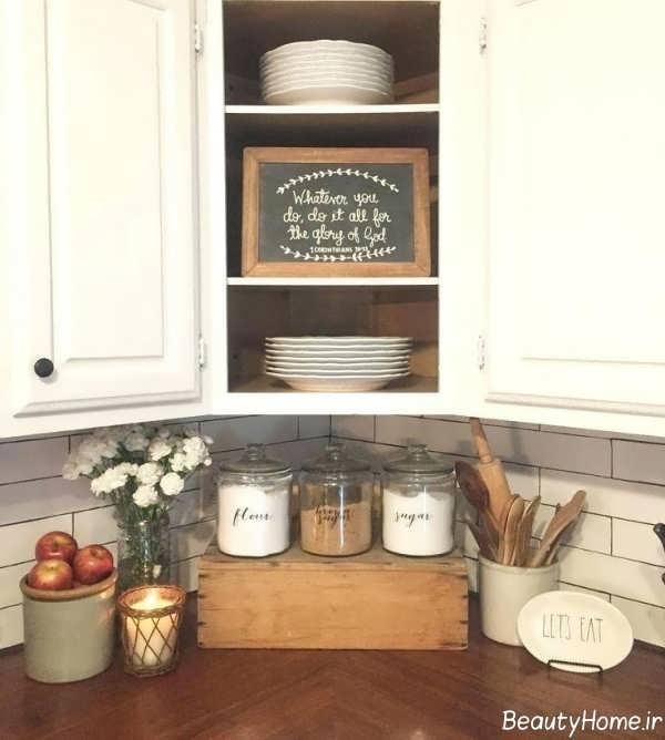 تزیین زیبا آشپزخانه