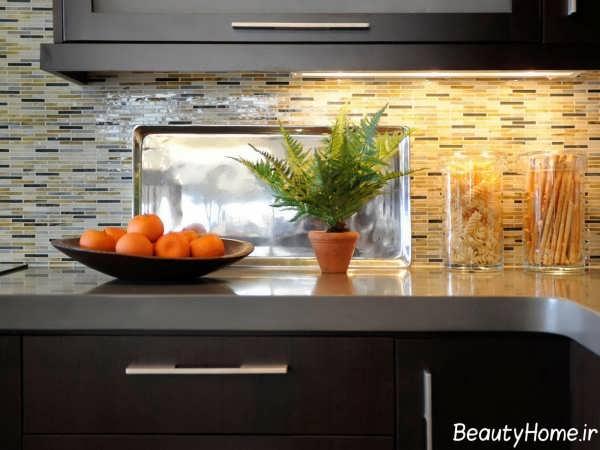 زیباسازی پیشخوان آشپزخانه