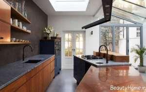طراحی داخلی آشپزخانه ارگونومی