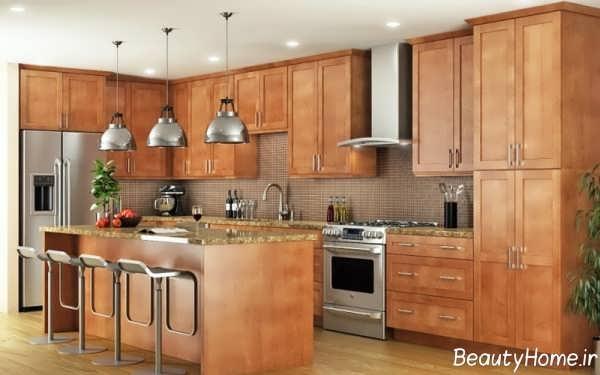 آشپزخانه ارگونومیک و زیبا