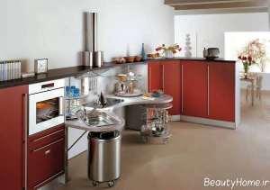 دکوراسیون داخلی آشپزخانه شیک
