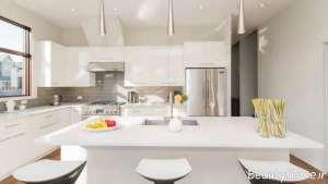 آشپزخانه ارگونومی سفید
