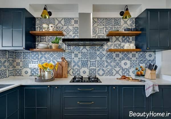 دیزاین داخلی آشپزخانه ارگونومی