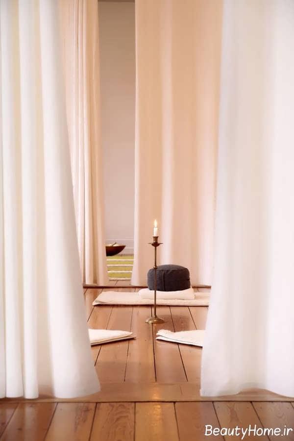 دیزاین داخلی اتاق مراقبه