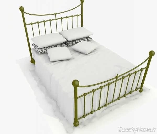 تختخواب ساده فلزی