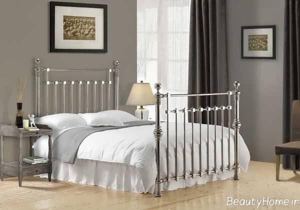 تختخواب شیک و فلزی