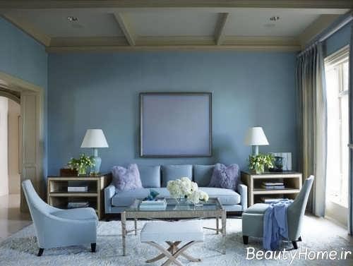 رنگ آبی در دکوراسیون منزل
