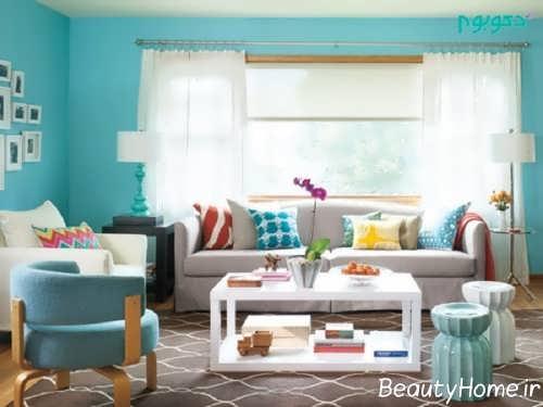 رنگ سرد در طراحی داخلی منزل