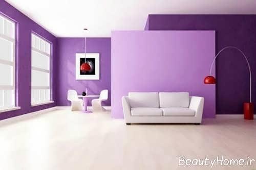 استفاده از رنگ سرد در دیوارها
