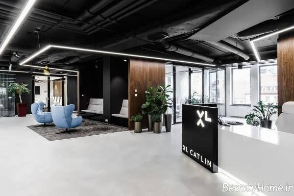 طراحی داخلی شرکت مهندسی
