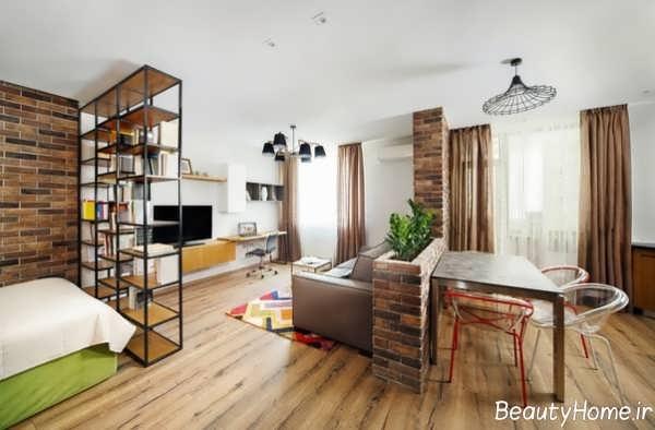 طراحی داخلی خانه دانشجویی