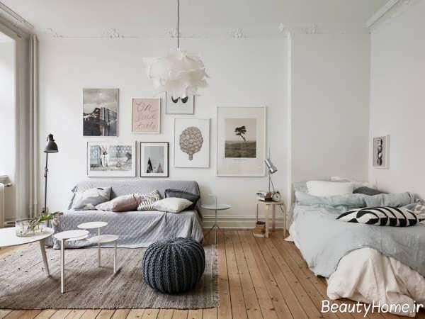 طراحی زیبا و شیک منزل دانشجویی