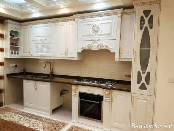 کابینت آشپزخانه زیبا و شیک